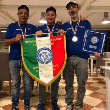 Da dx Plazzi aPlazzi Alessandro, al centro Mauro Salvatori e Marco Meloni