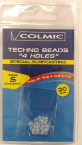 >Le nuove perline a fori non intersezanti della COLMIC risultano perfette per la costruzione di finali di qualsiasi tipo dive si richiedono braccioli a girare
