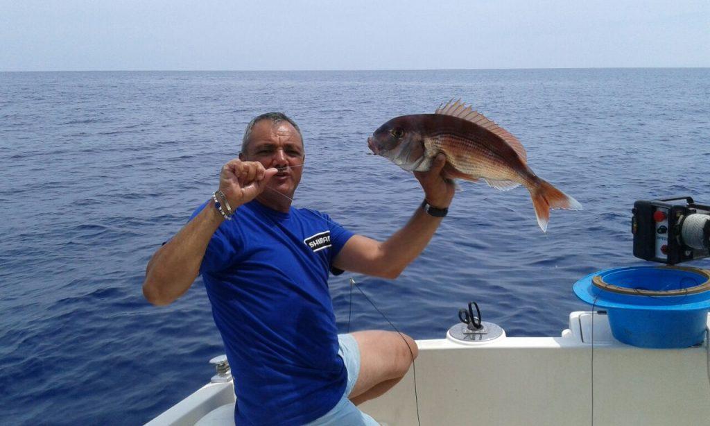 Cattura a 140 metri di profondità
