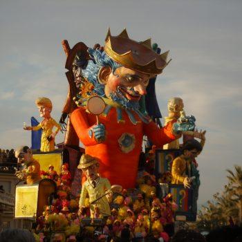 Viareggio la città del carnevale